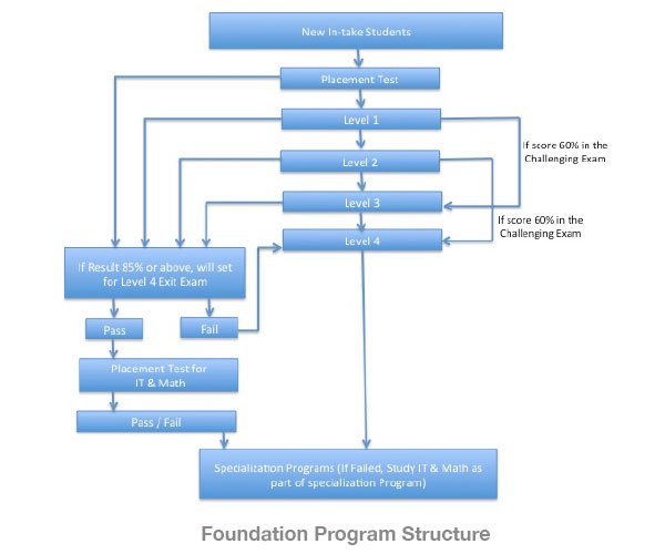 Foundation program structure